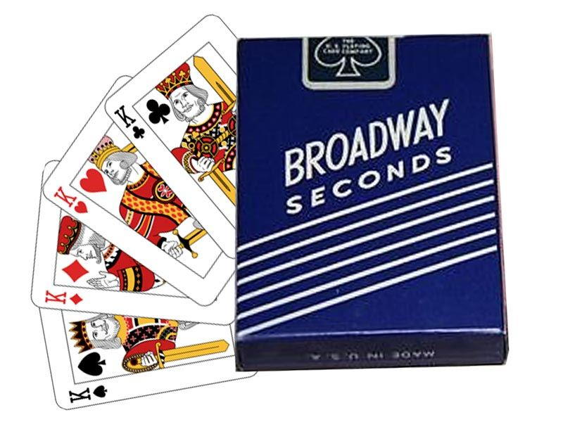 Cards Broadway Seconds