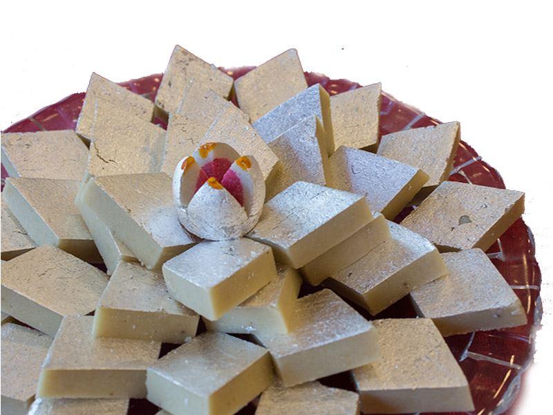 Kaju Barfi (1 Kg) from Gulab