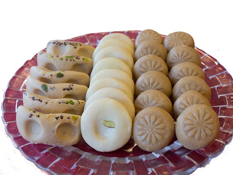 Mix Varieties Peda (1 Kg) from Gulab