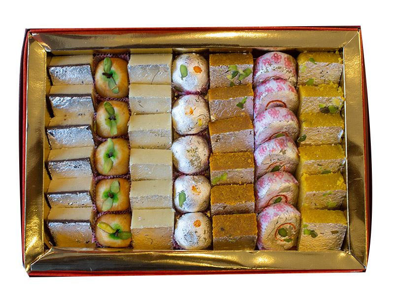 Premium Mix Sweets (800g) from Gulab