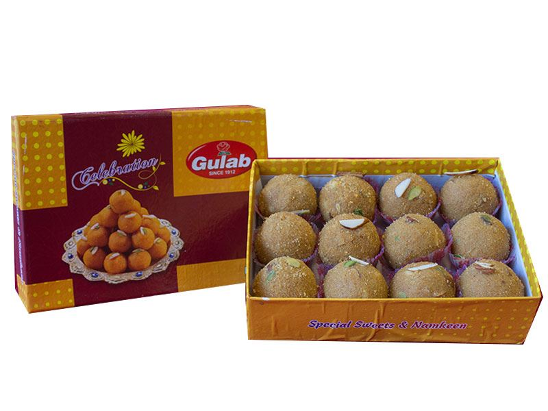 Special Besan Laddoo (12 Pcs) from Gulab