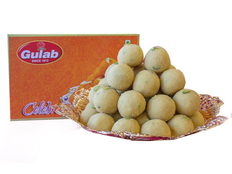 Sugar Free Special Besan Laddoo (12 Pcs) from Gulab
