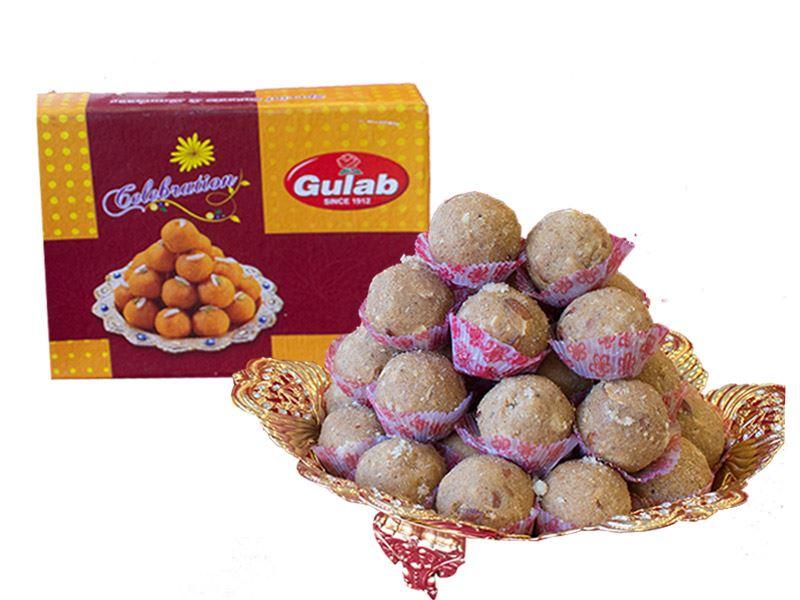 Gond Laddoo (12 Pcs) from Gulab