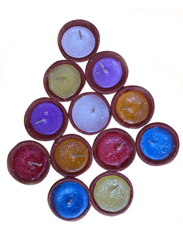 Clay Diyos with Wax (Set of 12)