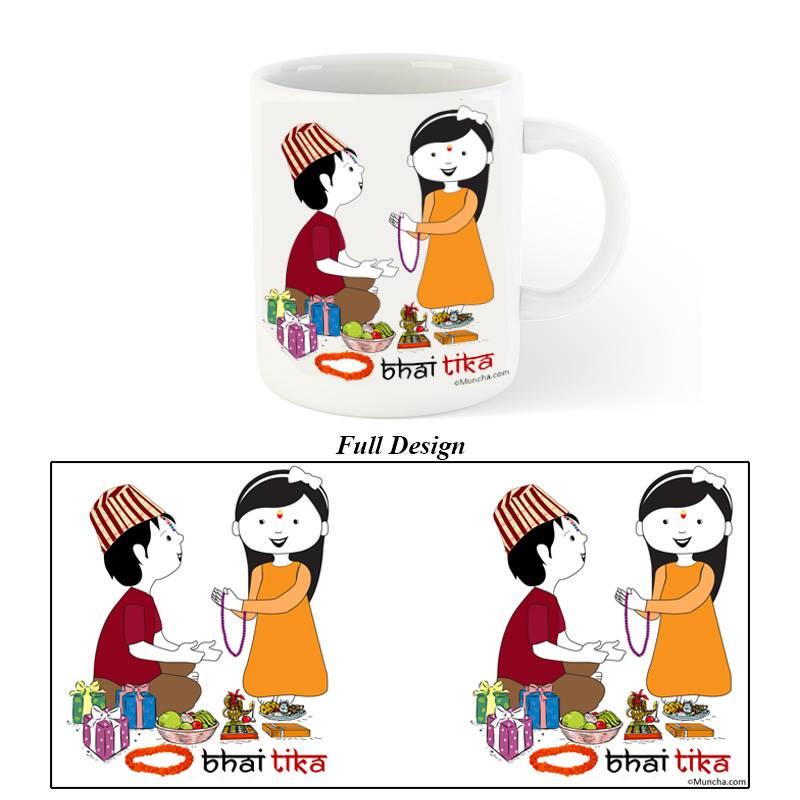 Bhai Tika Special Mug (CHT0181104-4)
