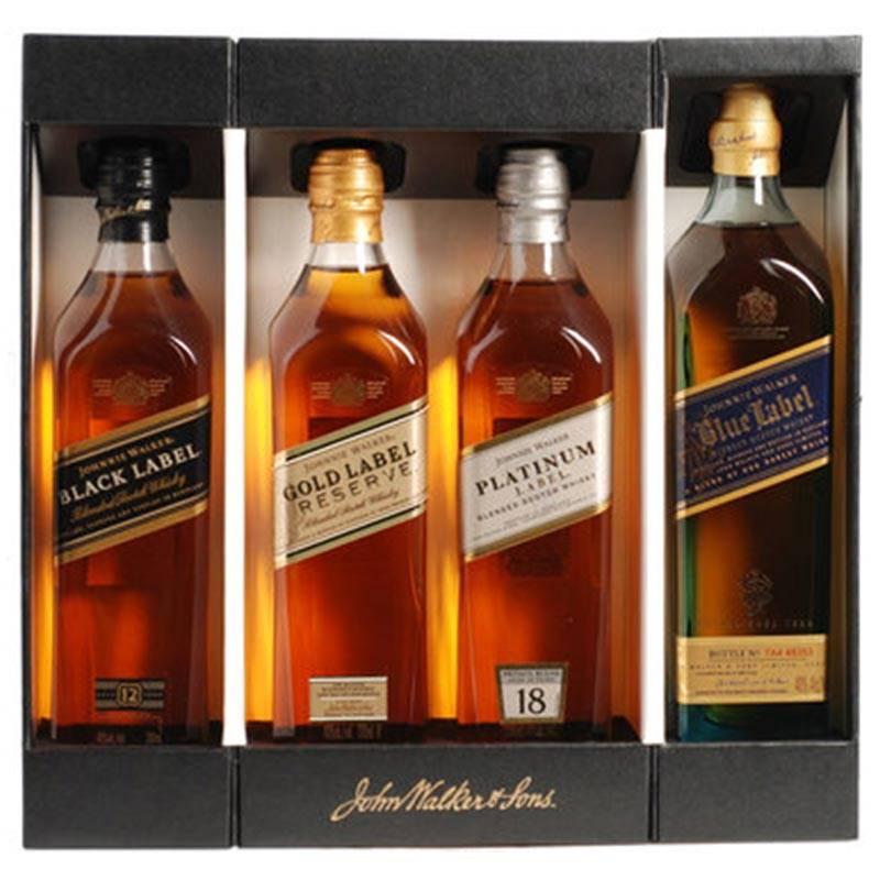 Johnnie Walker Collection (4 x 200 ml)