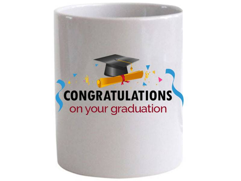Congratulations on Graduation Special Mug