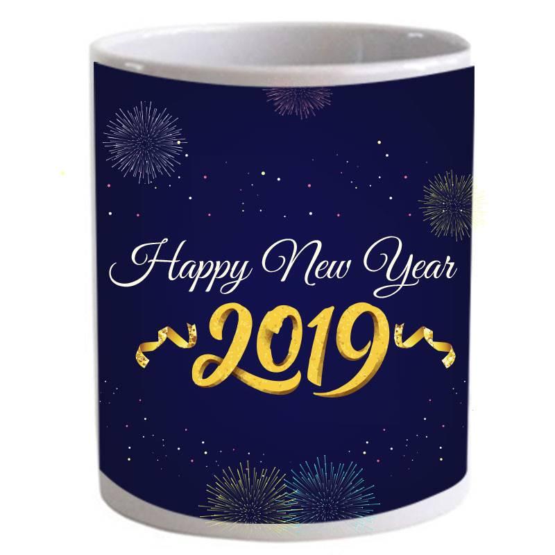 Happy New Year 2019 Special Mug (Qty 1)