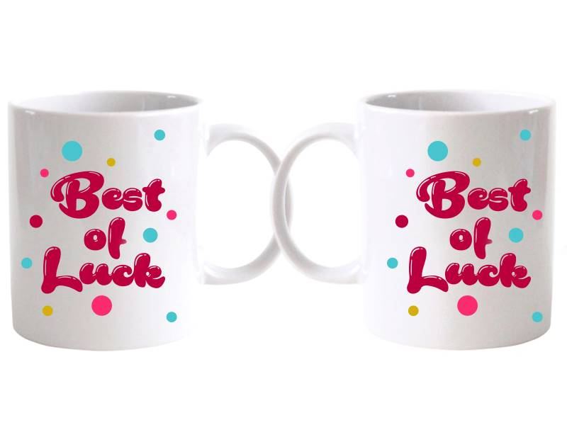 Best of Luck Special Mug (Qty 1)