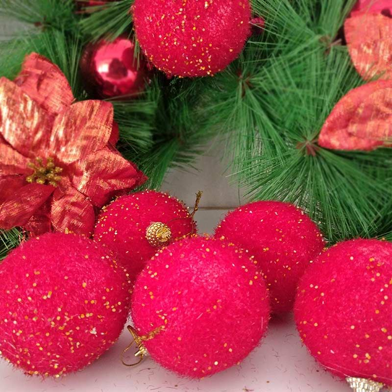 Red Foam Ball Ornaments