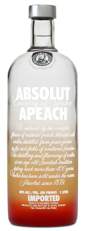 Absolut Apeach Vodka (1L)
