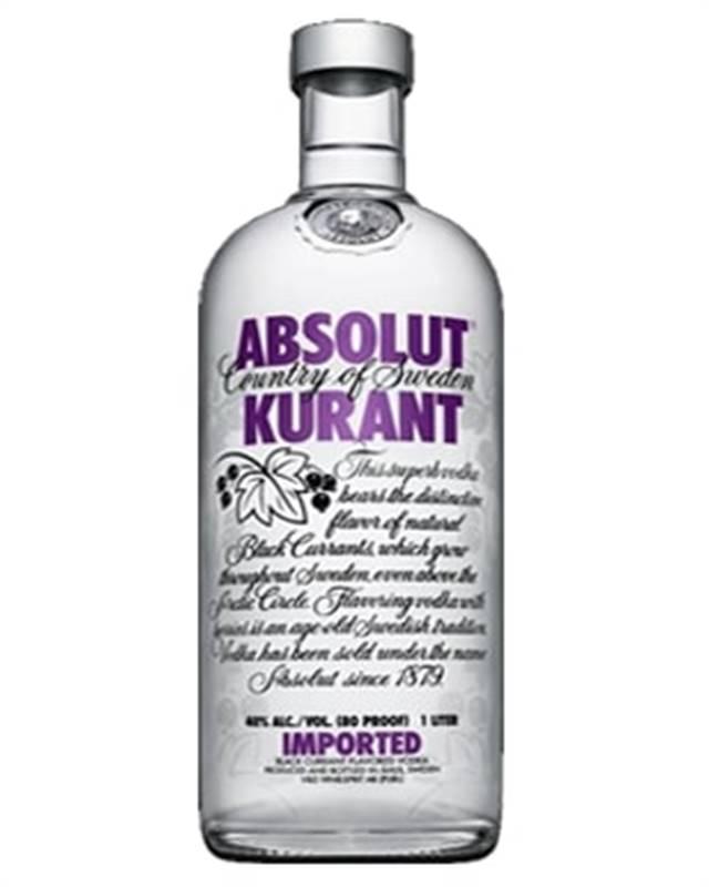 Absolut Kurant  Vodka (1L)