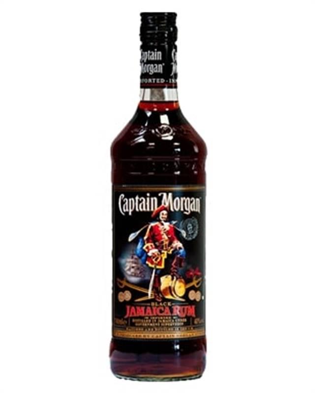 Captain Morgan Black Jamaica Rum (1L)