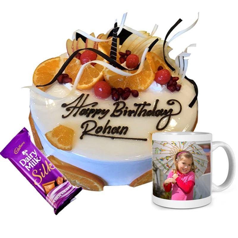 Vanilla Birthday Prezzie