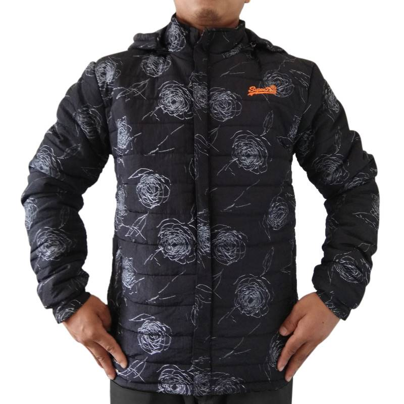 Wosha Mens Black Jacket
