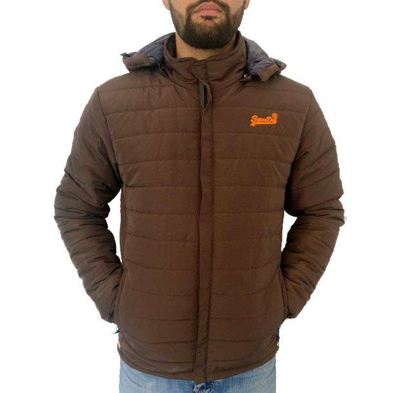 Wosha Mens Brown Jacket