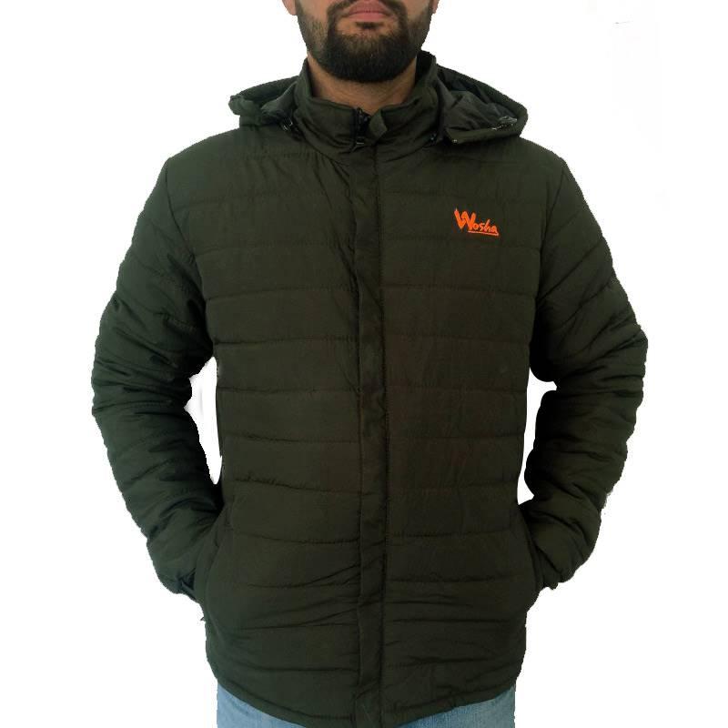 Wosha Mens Green Jacket