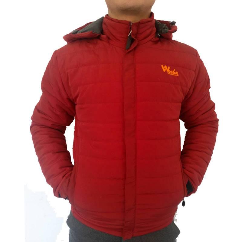 Wosha Mens Red Jacket