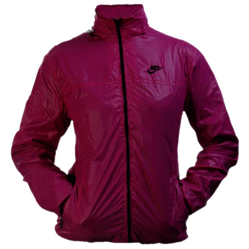 Ladies Magenta Windcheater