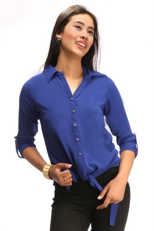 Bella Jones Blue Full Sleeve Shirt (SA030-S)