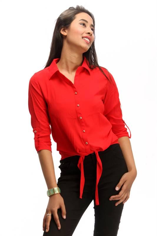 Bella Jones Red Full Sleeve Shirt (SA030-S)