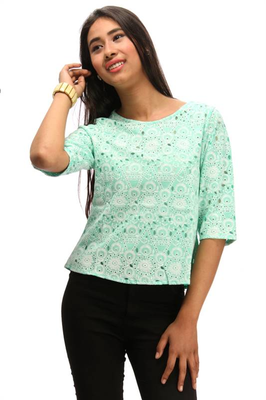 Bella Jones Green Top (SA011-M)