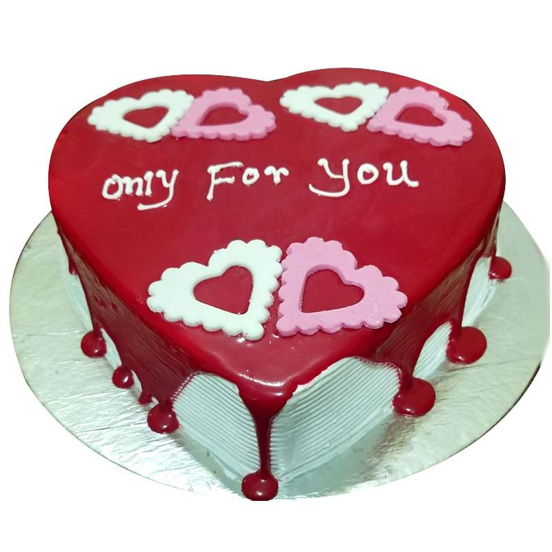 Only for You Choco Vanilla Cake (1 Kg) from Chefs Bakery