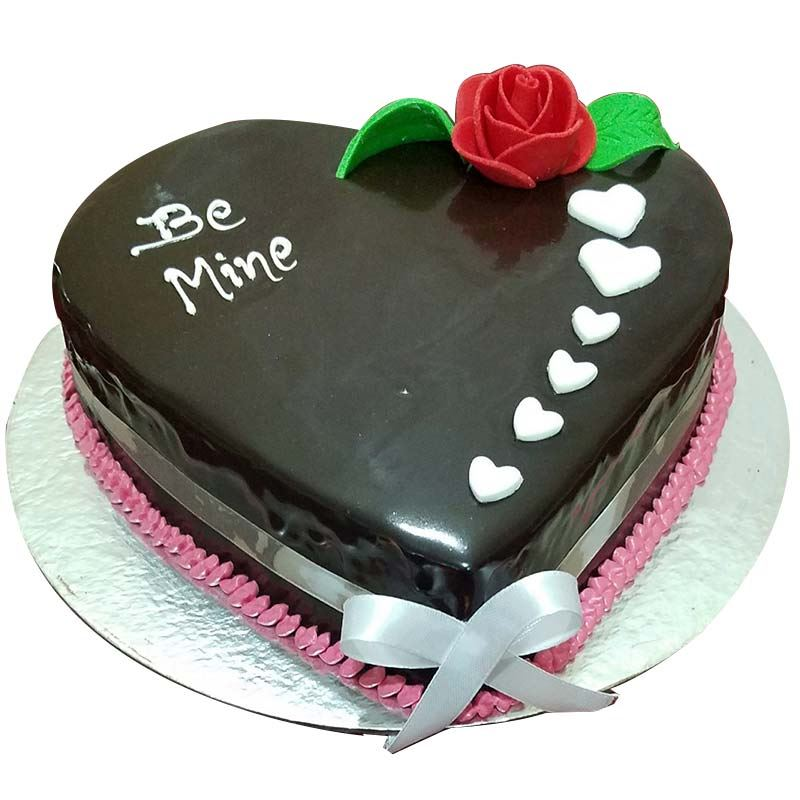 Be Mine Chocolate Cake (1 Kg) from Chefs Bakery
