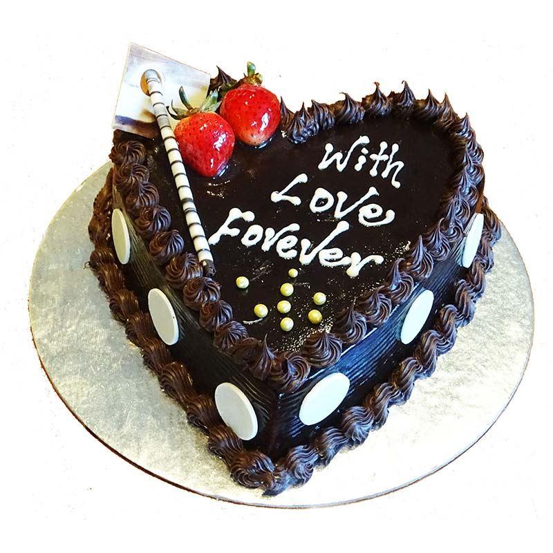 With Love Forever Chocolate Cake (1 Kg) from Hyatt Regency