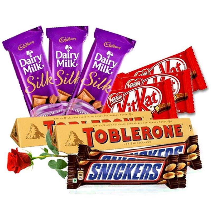 Chocolates We Love (Free Rose)