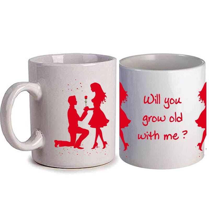 Will You Grow Old with Me Mug (Qty 1)