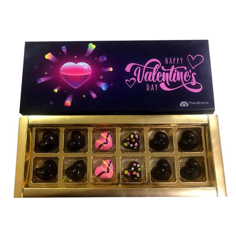Happy Valentine's Day Chocolate box by TheoBroma