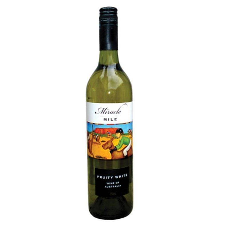 Miracle Mile Fruity White Wine (750ml)
