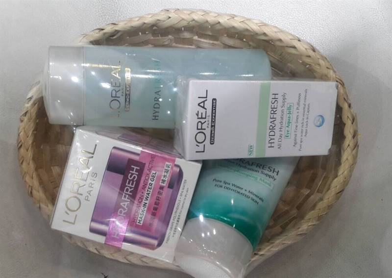 loreal hydra fresh gift hamper for her