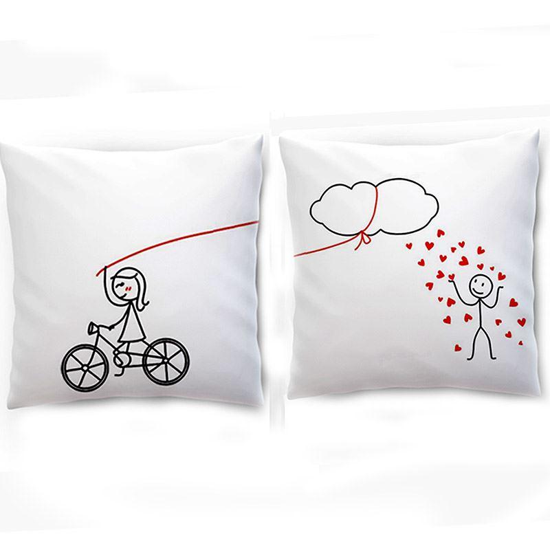 Showering Love Couple Cushion
