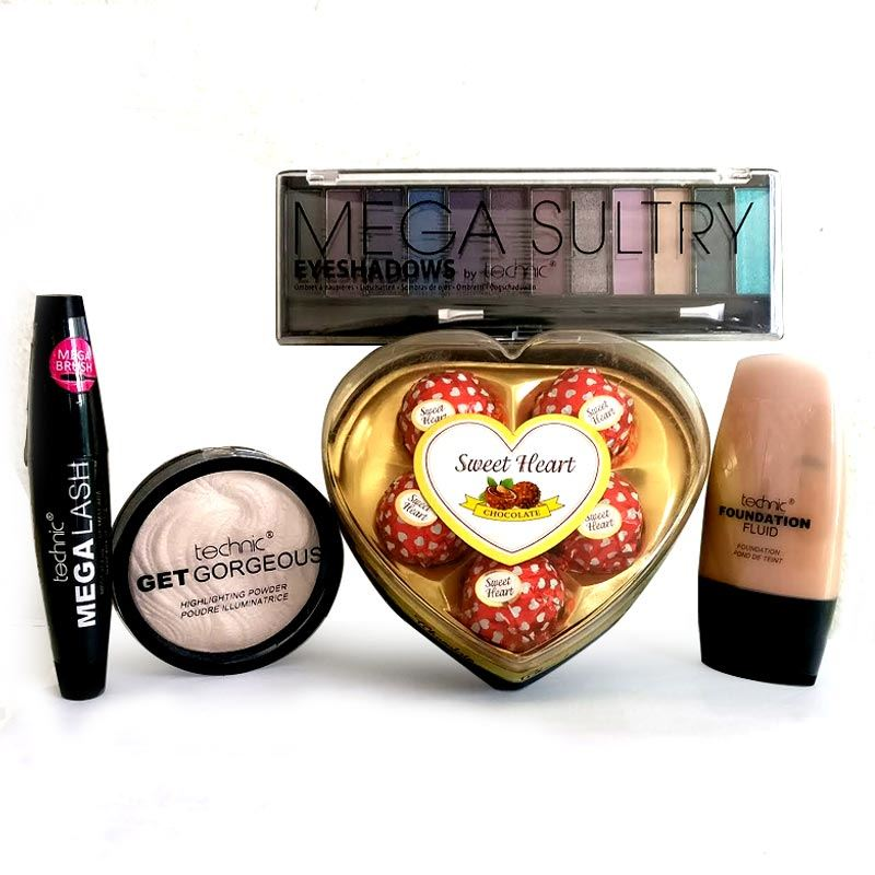 Valentines Technic Makeup Package 3