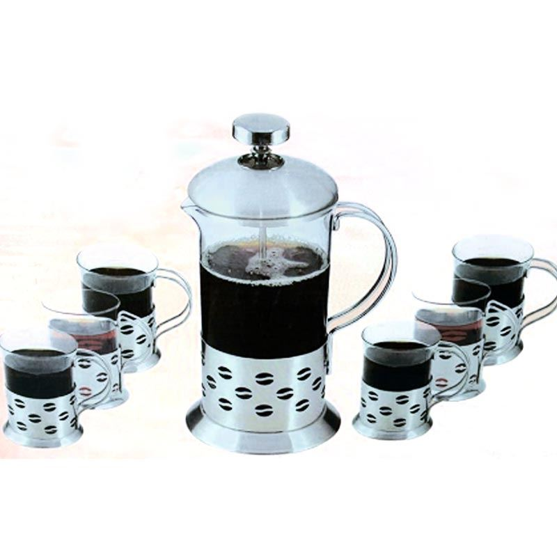 French Press Set 800 ml + 6 Cups