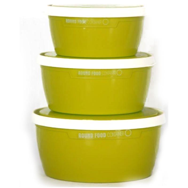 Round Food Plastic Container
