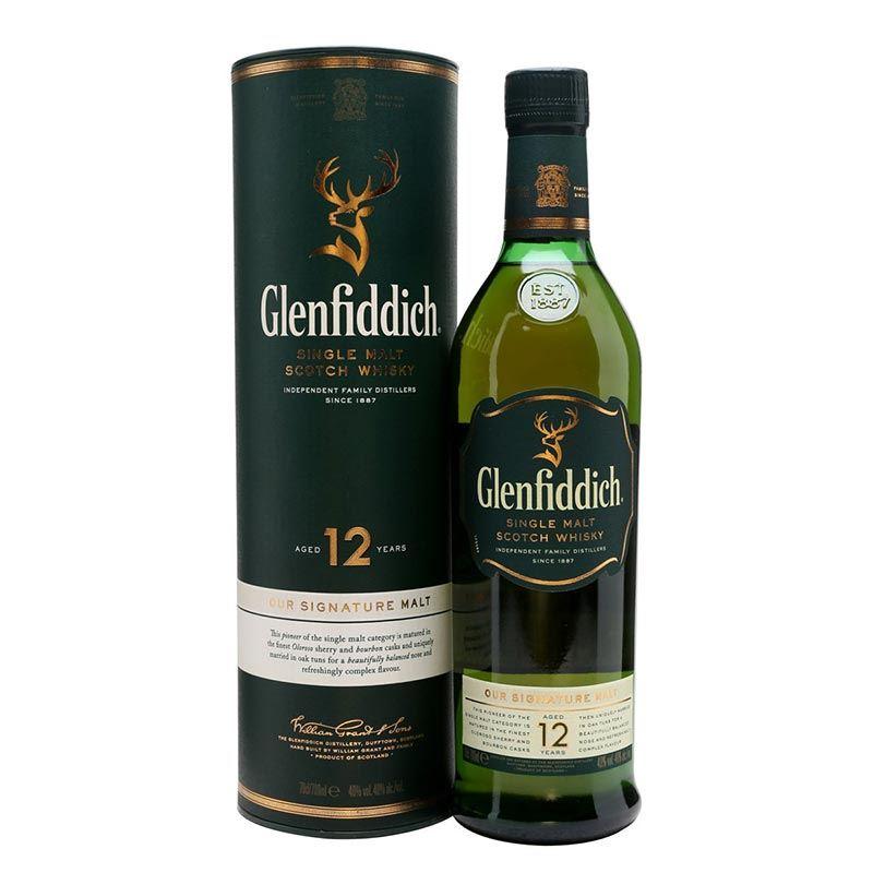 Glenfiddich Single Malt Scotch Whisky (1L)