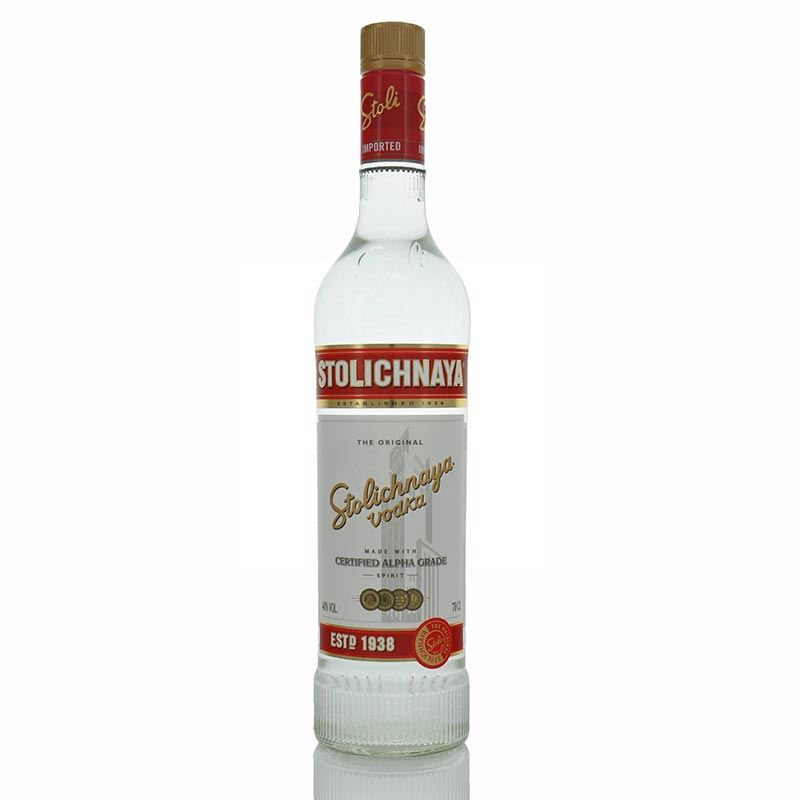 Stolichnaya Russian Vodka (1L)