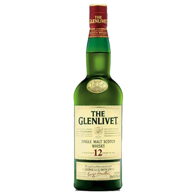 Glenlivet Single Malt Scotch Whisky (1L)