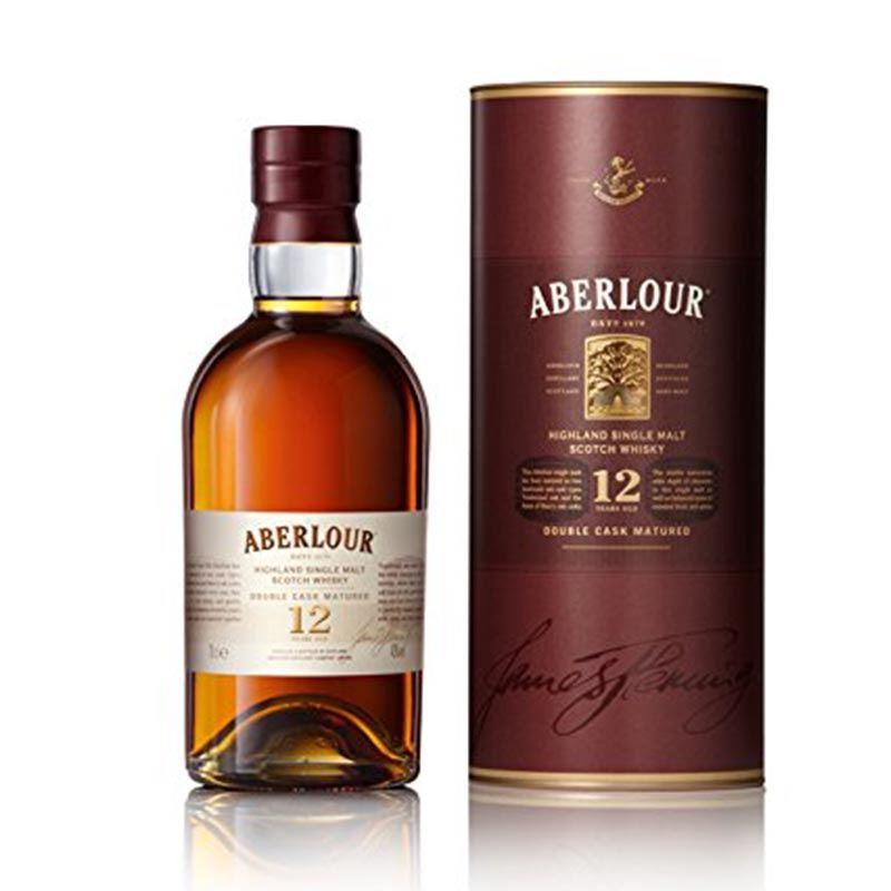 Aberlour 12 Years Old Single Malt Scotch Whisky (1L)