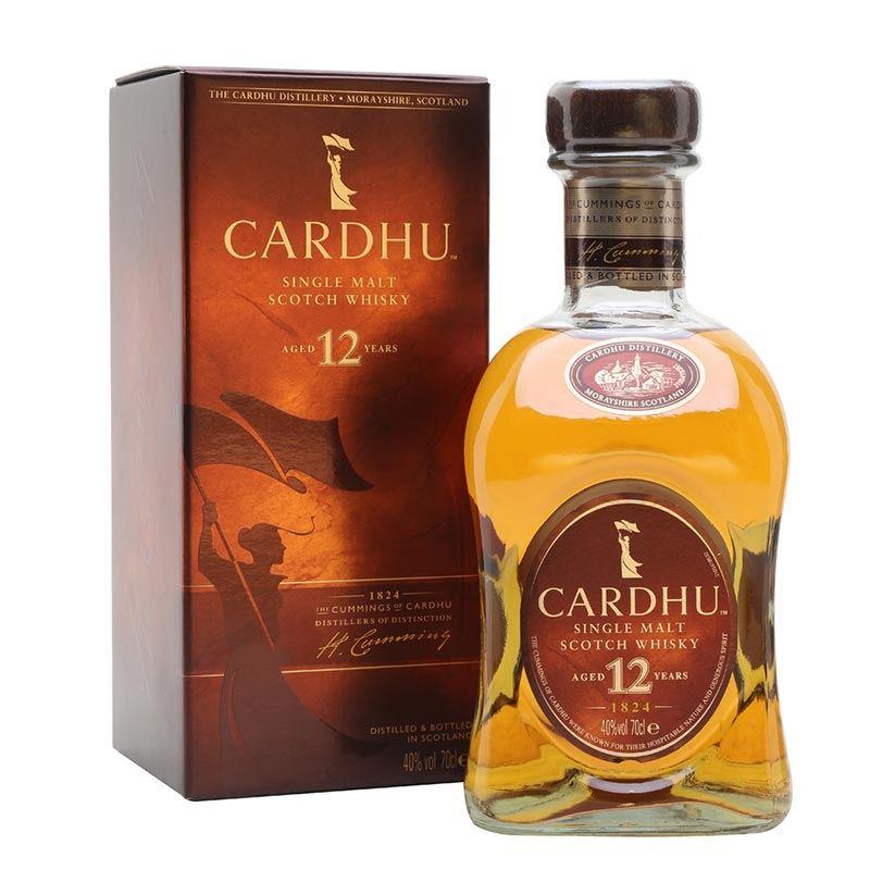 Cardhu Single Malt Scotch whisky Aged 12 Years (1L)