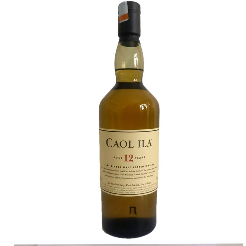 Caol Ila Single Malt Scotch whisky Aged 12 Years (750ml)