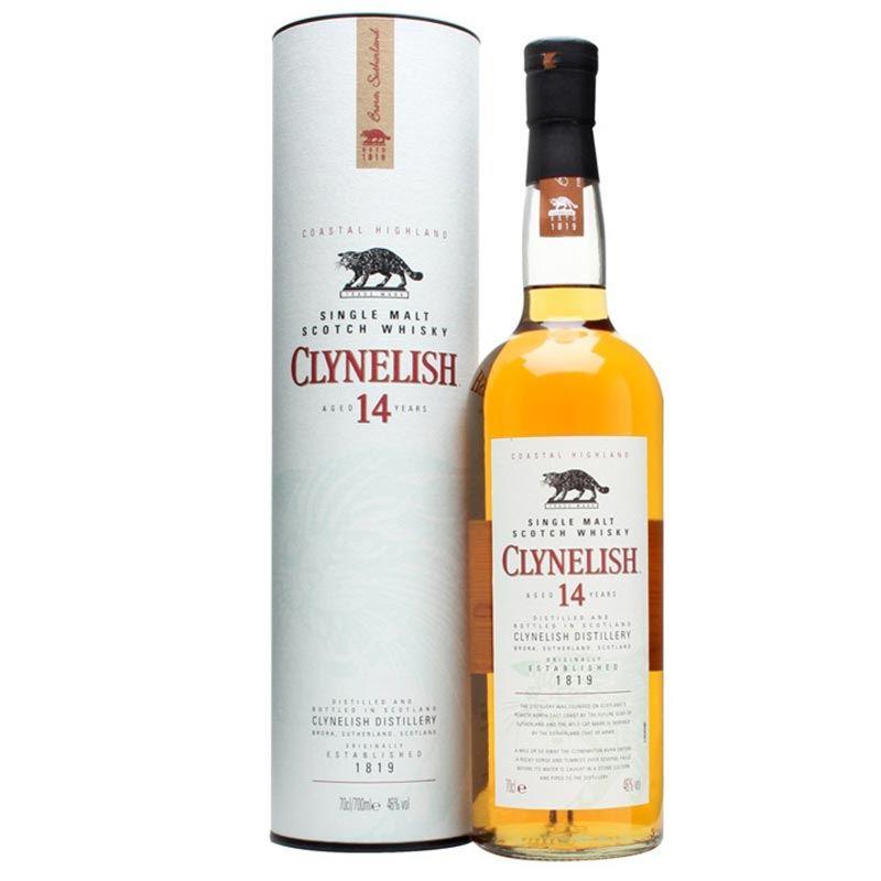 Clynelish Single Malt Scotch Whisky Aged 14 Years (750ml)