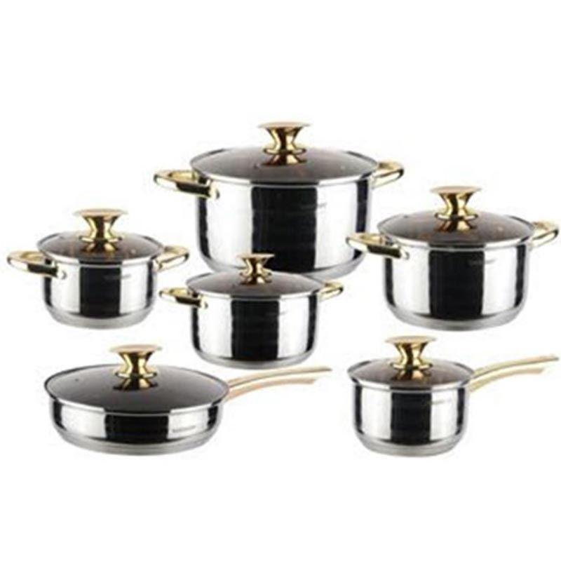 Kaiserhoff 6 pcs Pot Set
