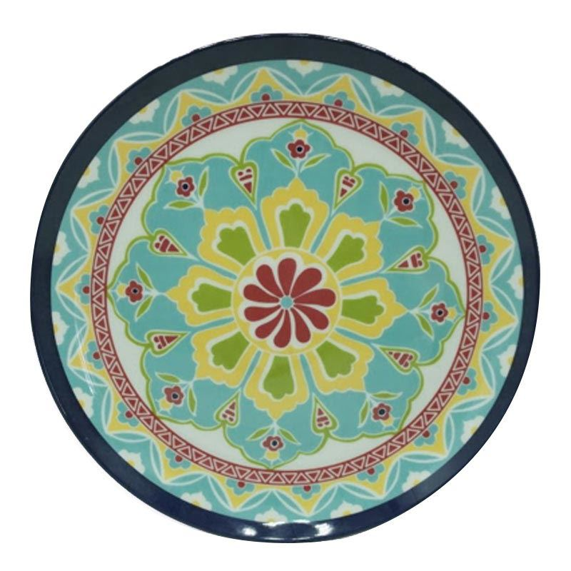 Barcelona Melamine Dinner Plate 10.5 Inches (6 Pcs set)