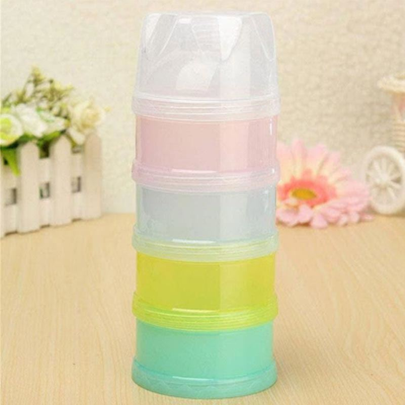 Portable Baby Milk Powder Container