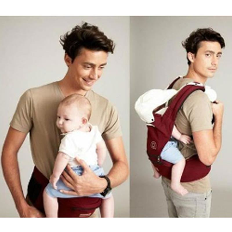 Baby Carrier with Detachable Hip Seat