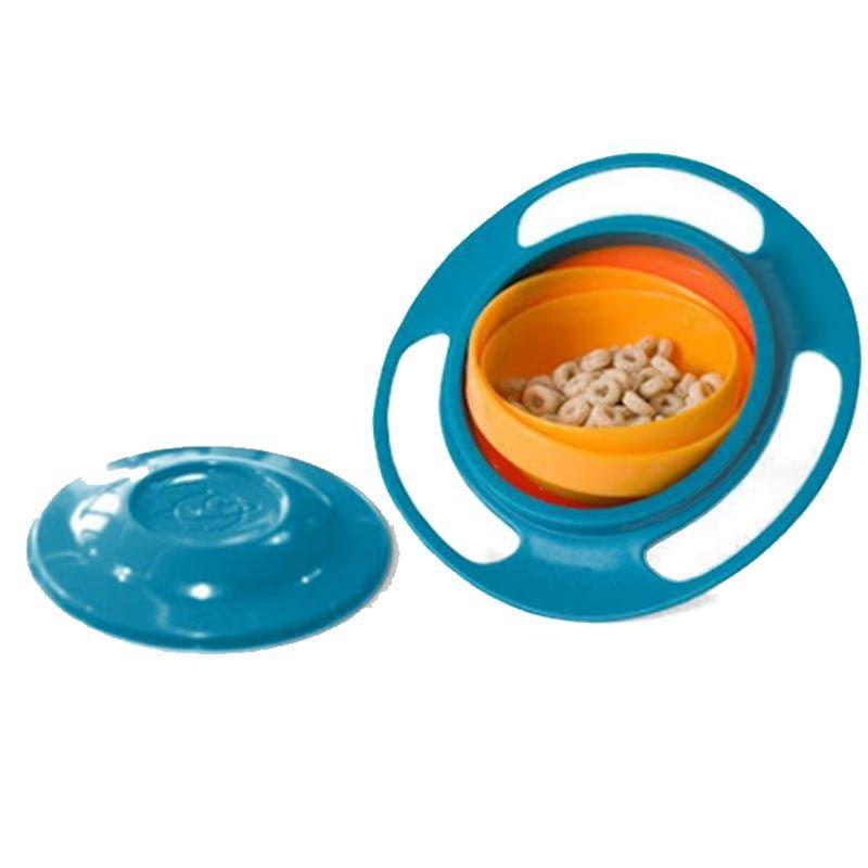 Non Spill Baby Feeding Bowl Gyro